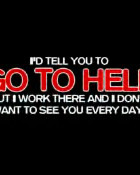 go to hell wallpaper 1