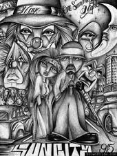 Free cholo art 1 phone wallpaper by latraviesa13