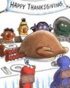 Thanksgiving in sesame street