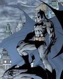 Free Batman skyline.jpg phone wallpaper by psilentstorm