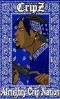 Free Almighty Crip Nation phone wallpaper by zerosktr757