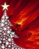 Free christmas-background-with-shiny-texture.jpg phone wallpaper by ladymdf