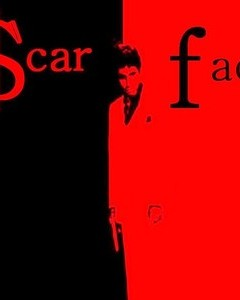 Free scar face phone wallpaper by juliosecduce