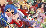Free lucky star christmas.jpg phone wallpaper by riceballz445