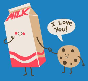 Free milk&cookies. phone wallpaper by jayishawt09