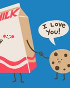 milk&cookies. wallpaper 1