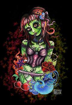 Free 1179676-1-black-zombie.jpg phone wallpaper by wheredalltheducksgo