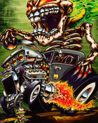 Ed Hardy Tattoo Hot Rod