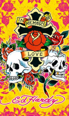 Free Ed Hardy Tattoo In Memory of Love phone wallpaper by dejasoul
