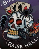 Ed Hardy Tattoo Born To Raise Hell