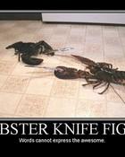 Lobster Knife Fight