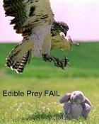 edible prey fail