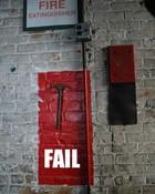 fire extinguiser FAIL