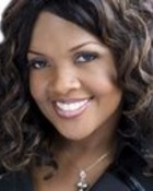 Headshot of CeCe  Winans in black  wallpaper 1