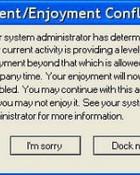 computer message conflict