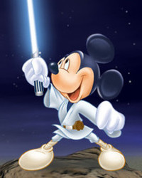 MickeywiththeLightsaber