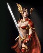 Warrior Girl wallpaper 1