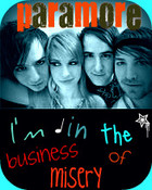 Paramore Misery Business:) wallpaper 1