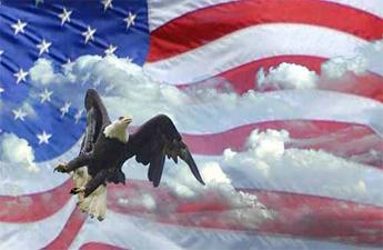 Free AMERICAN-FLAG-EAGLE.jpg phone wallpaper by glazeyourdeaddonut