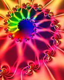 Free rainbow swirl.jpg phone wallpaper by firefox669
