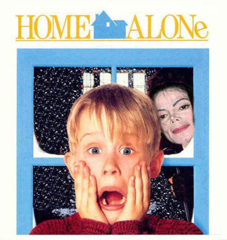 Free Home alone with michael jackson  phone wallpaper by spiderwick49