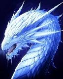 Free Ice Dragon.jpg phone wallpaper by zestyred