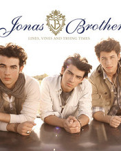 Free Jonas Brothers-Lines, Vines & Trying Times Album Cover phone wallpaper by megec