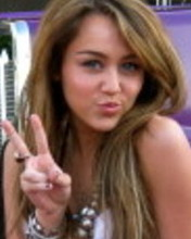 Free Miley Cyrus 1 phone wallpaper by megec