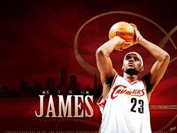 Free LeBron James - KING red.jpg phone wallpaper by kingwood