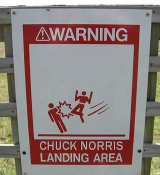Free Chuck Norris Landing Area.jpg phone wallpaper by serve11