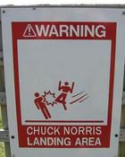Chuck Norris Landing Area.jpg