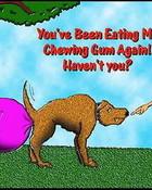 chewing gum wallpaper 1