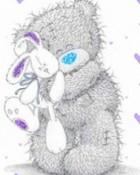 Tatty Teddy Hugging Bunny wallpaper 1