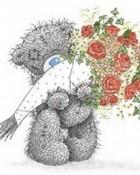 Tatty Teddy Flower Bunch