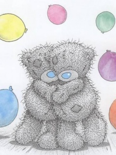 Free Tatty Teddy Couple phone wallpaper by samanthaord