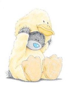 Free Tatty Teddy Dressed As Chick phone wallpaper by samanthaord