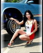 lowrider mexican model wallpaper 1