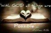 Free with god all things are possible.jpg phone wallpaper by kimberlina