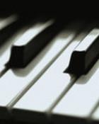 Piano Closeup