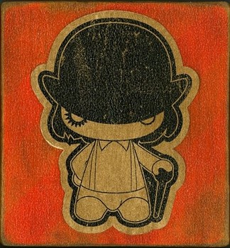 Free a,clockwork,orange,movie,clockwork,orange,illustration,wood,design-a6badba50977f31f8271bbb11fbbde37_ phone wallpaper by nanidoromal