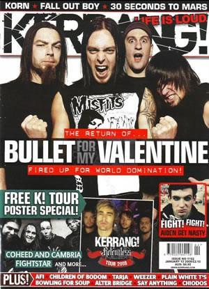 Free Bullet for my valentine phone wallpaper by kaitlin941