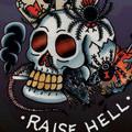 Free Ed Hardy Born To Raise Hell.jpg phone wallpaper by tat2mom