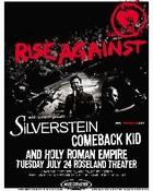 RiseAgainst,SilversteinandComebackKid
