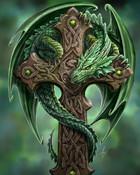 the-green-dragon-cross.jpg wallpaper 1