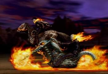 Free ghost-rider-artwork1.jpg phone wallpaper by longhaulcd