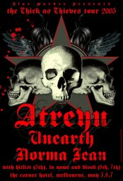 Free Atreyu Tour phone wallpaper by chelcee7