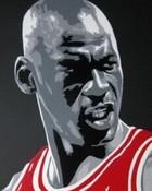 Jordan, red, white, n black