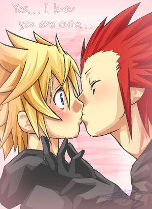 Free surprise-kiss-akuroku-7344064-300-411.jpg phone wallpaper by tappi