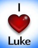 Free i love luke phone wallpaper by sammy24