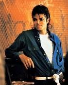 Michael Jackson on The Set Of